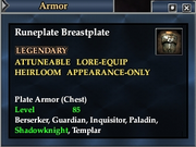 Runeplate Breastplate