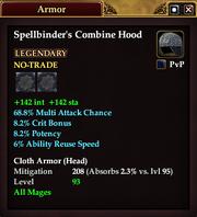 Spellbinder's Combine Hood