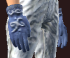 Vesspyr Scholar's Blue Gloves (Equipped)