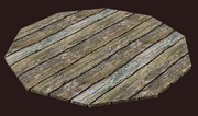 Rounded Tile of Elm (Visible)