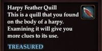Harpy Feather Quill