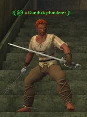 A Gunthak plunderer (Forsaken City) (human)