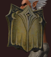Tower Shield of Malformed Werewolf Bones (Equipped)