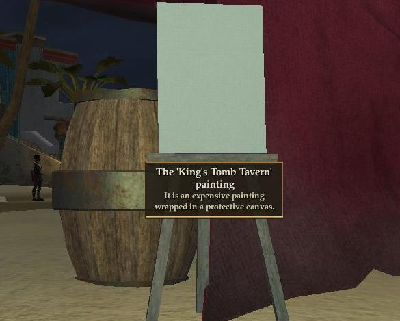 File:'King's Tomb Tavern' painting (Visible).jpg
