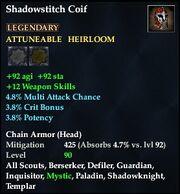 Shadowstitch Coif