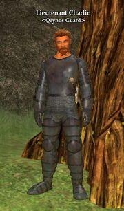 Lieutenant Charlin