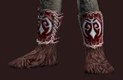 Martial Bear Pelt Boots (Equipped)