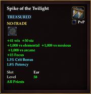 Spike of the Twilight