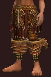 Elysian Chausses of the Darkblade (Equipped)