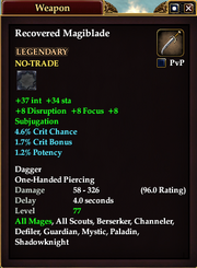 Recovered Magiblade