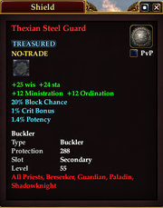 Thexian Steel Guard