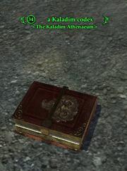 A Kaladim codex