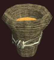 Woven Basket of Grain (Visible)