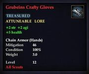 Grubeins Crafty Gloves