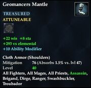 Geomancers Mantle