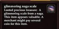 Glimmering naga scale