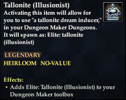 Tallonite (Illusionist)