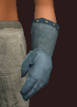 Blue Gloves of the Far Seas Traders (Equipped)