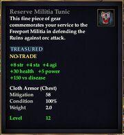 Reserve Militia Tunic