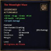 The Moonlight Mace