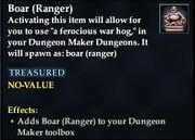 Boar (Ranger)