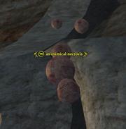 An inimical necrosis