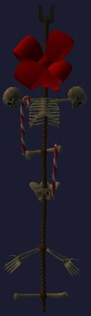 Festive bone trophy (Visible)