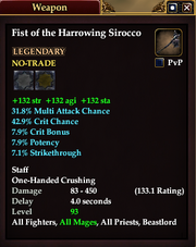 Fist of the Harrowing Sirocco