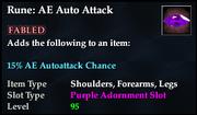 Rune- AE Auto Attack