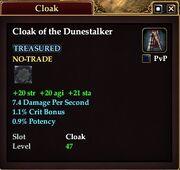 Cloak of the Dunestalker