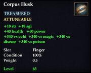 Corpus Husk