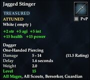Jagged Stinger
