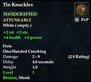 Tin Knuckles
