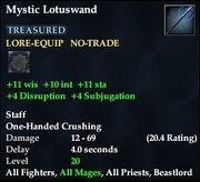 Mystic Lotuswand