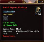 Brutal Expert's Skullcap