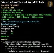Imbued Tailored Swiftcloth Robe