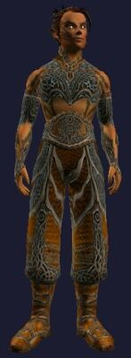 Enchanted Gi of War (Visible, Male)