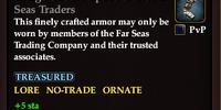 Indigo Shoulderpads of the Far Seas Traders
