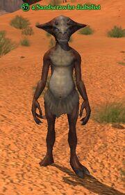 A Sandscrawler diabolist