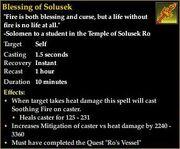 Blessing of Solusek