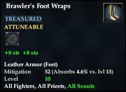 Brawler's Foot Wraps