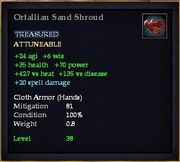 Ortallian Sand Shroud