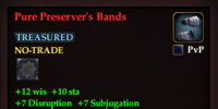 Pure Preserver's Bands