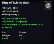 Ring of Twisted Steel