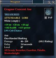 Gragnor Crescent Axe