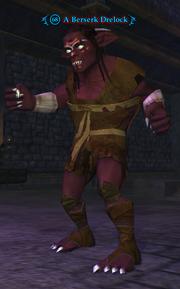 A Berserk Drelock