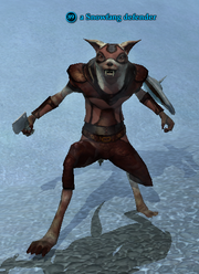 A Snowfang defender