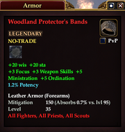 Woodland Protector's Bands