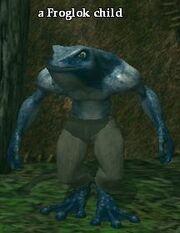 A Froglok child (Hidden VoK)