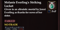 Melanie Everling's Striking Locket